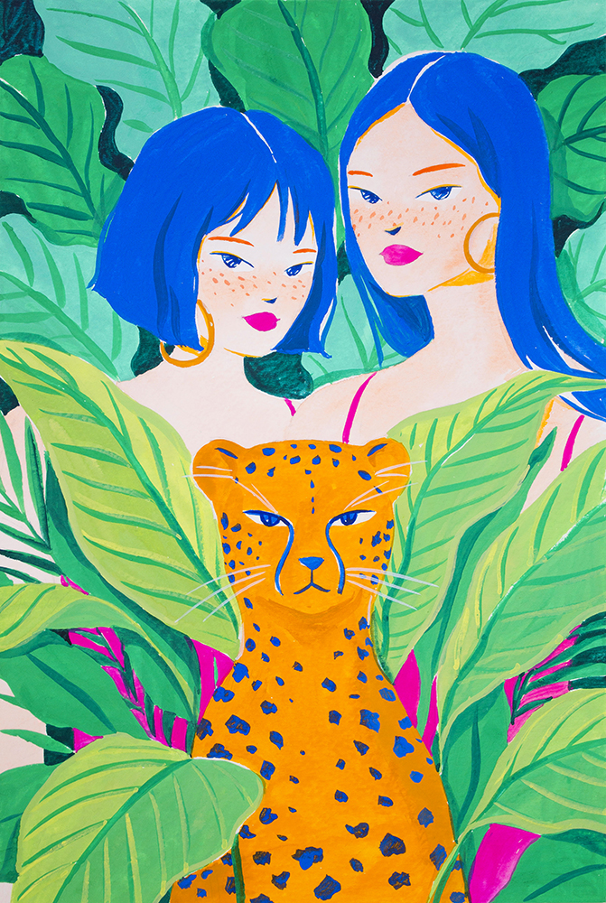girls-and-panther-in-tropical-jungle_small.jpg