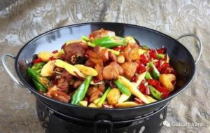 Traditional Chinese cuisine: Gan guo
