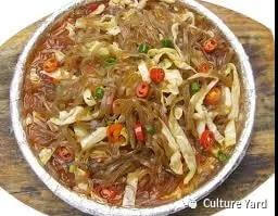 Traditional Chinese cuisine: fensi