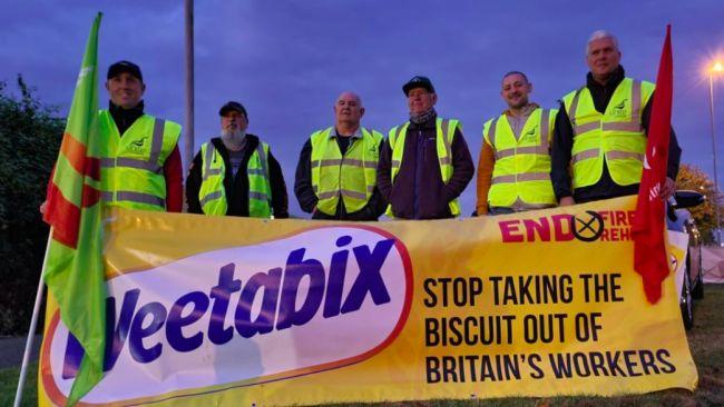 Unite members take industrial action