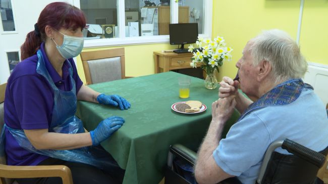 Care homes in the region a facing a staff shortage.