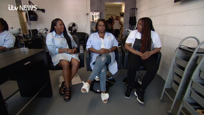 It's World Afro Day. One family with three generations discuss their opinions and experiences of natural hair.