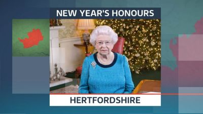 New Year Honours In Hertfordshire Anglia Itv News
