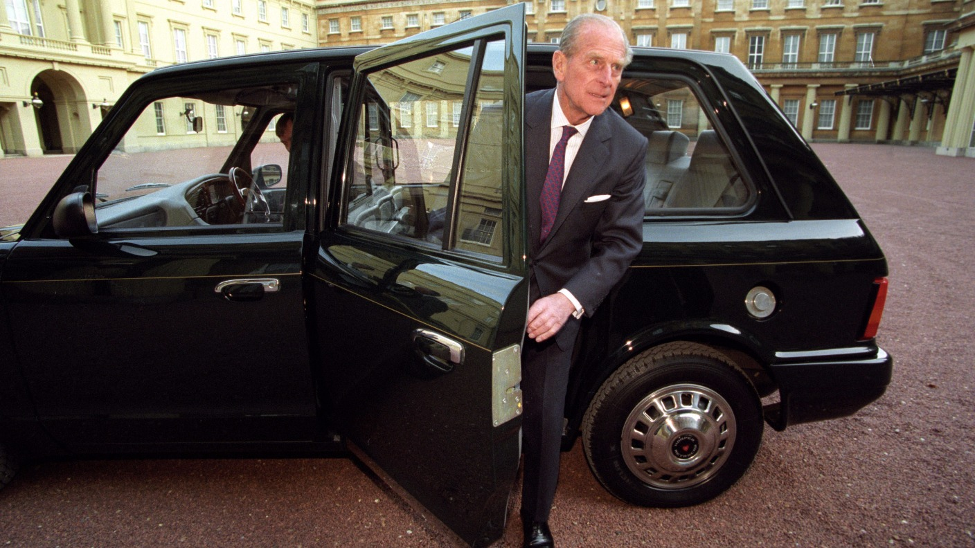 Prince Philip's eco-friendly taxi he used to secretly travel around London  set to go on display   ITV News