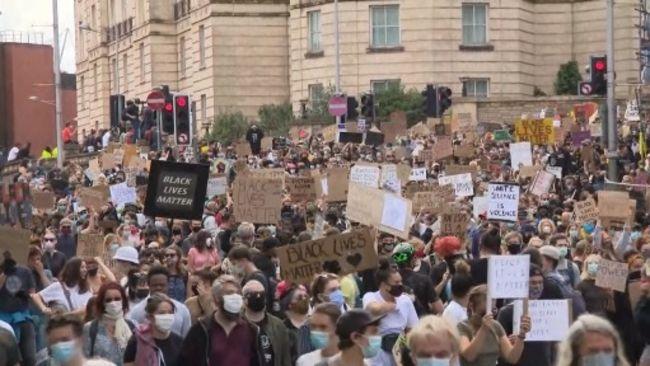 110720-Bristol Black Lives Matter protest-ITV News West Country