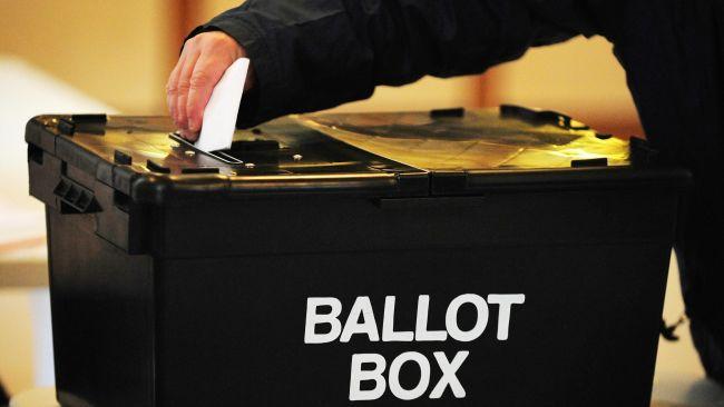 PA stock pic of a ballot box.