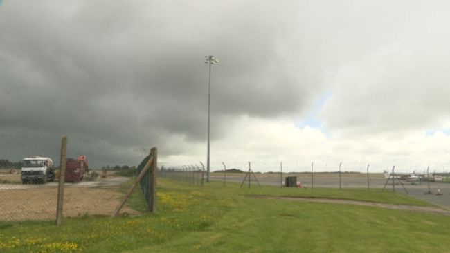 Spaceport site in Cornwall