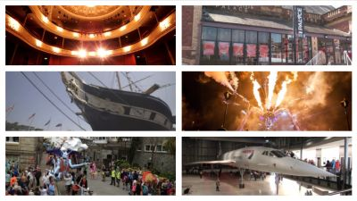 121020 Montage of arts organisations. ITV West Country