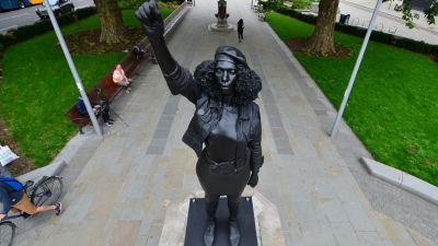 A Surge of Power (Jen Reid) BLM statue Bristol