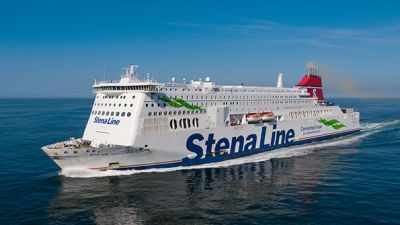 The Stena Hollandica is one of the largest Superferries in the world