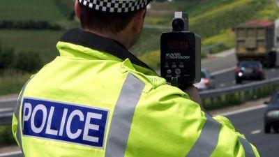 260621 Essex traffic cop with speed gun