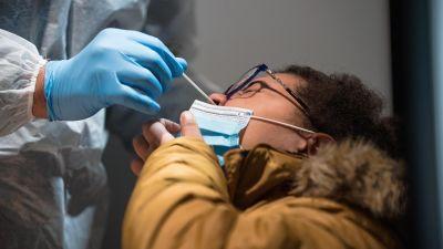 Coronavirus swab testing