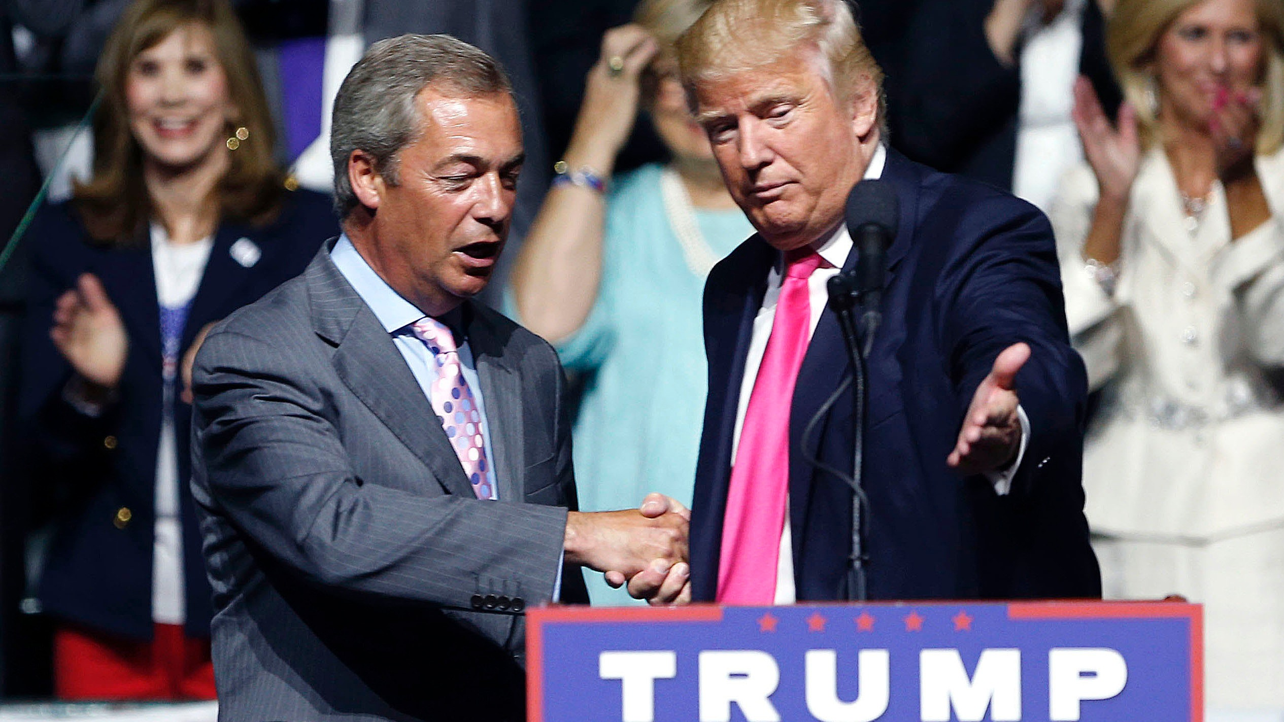 Farage: Trump is 'most resilient and bravest person I've ever met' | ITV News