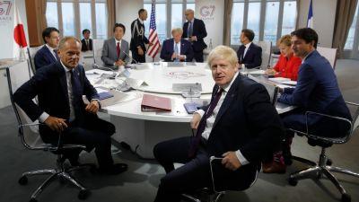 G7 in France, 2019