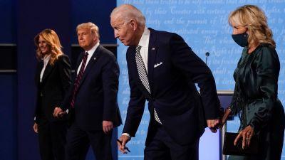 300920 Trump Biden presidential debate AP