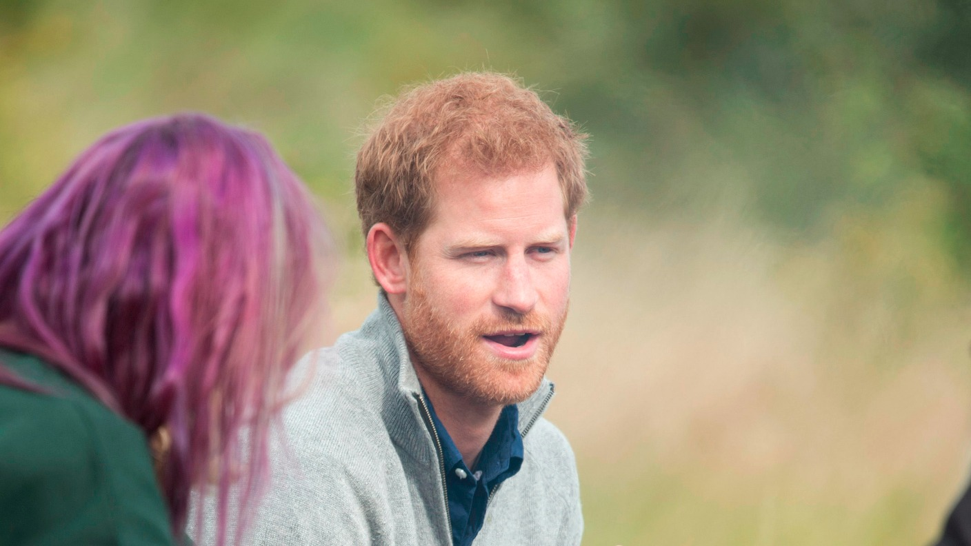 Prince Harry goes wild in the Essex countryside | ITV News