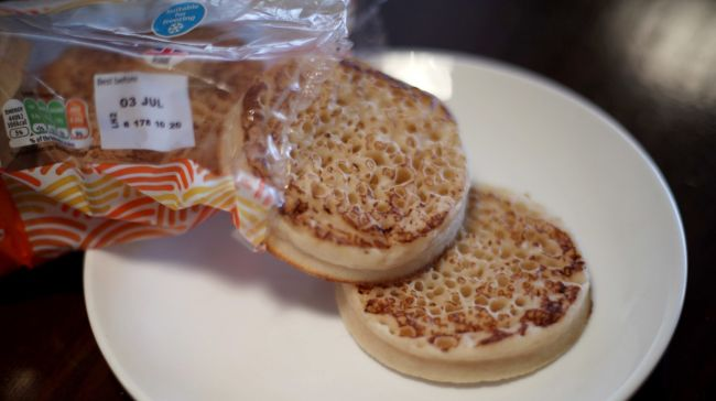 Warburtons says it is making 'nowhere near' its usual amount of crumpets because of a lack of CO2.