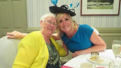 Julie Hart delight at care home rules scrapped for low risk visits