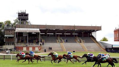 Racing has been held behind closed doors at Newmarket since June.