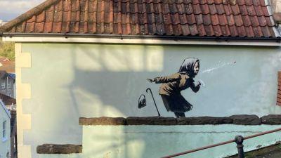 10/11/12-Possible new Banksy in Totterdown in Bristol-Bristol Live