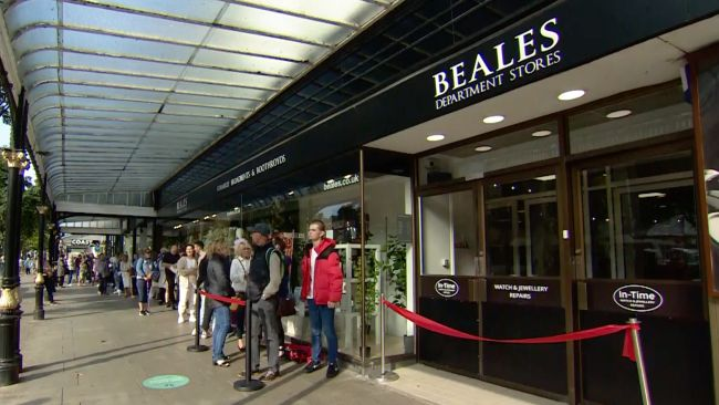 Beales Southport Reopening