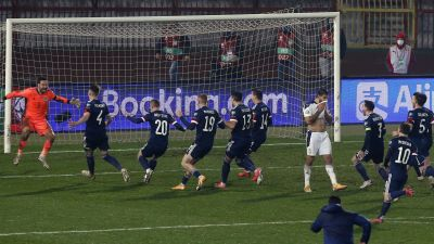 Scotland secured a historic win over Serbia to make next year's Euros.