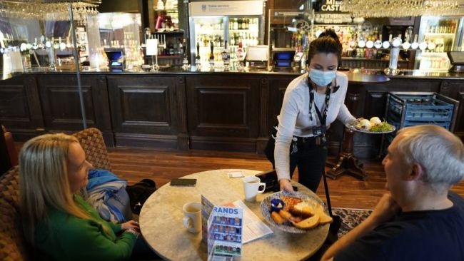 hospitality sector reopens