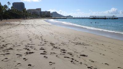 040321 Waikiki Beach hawaii, AP
