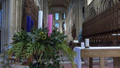 Peterborough cathedral interior