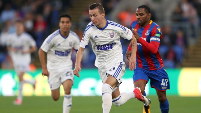 Bersant Celina is back at Ipswich Town.