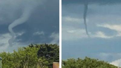 Tornado over South Gloucestershire