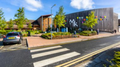 The college plans to build the centre at the Chaffron Way campus