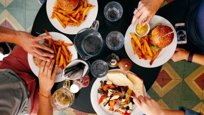 50% discount for diners who eat out in August