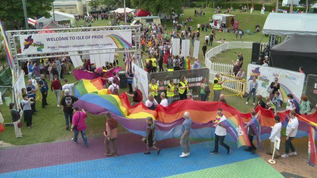 Isle of Man celebrates first ever Pride festival