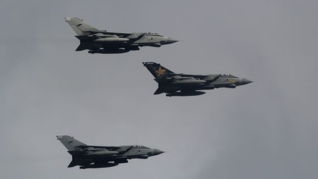 Tornado jets based at RAF Marham in Norfolk were among those deployed during the Gulf War