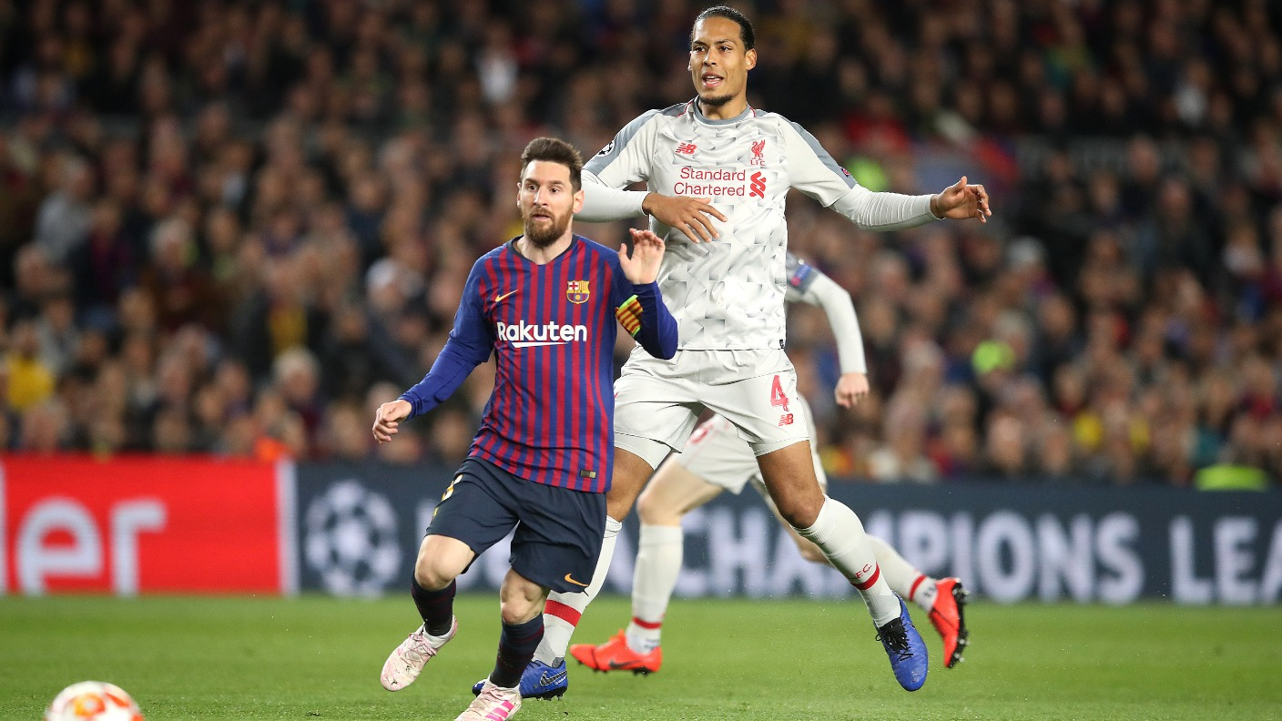 Liverpool Defender Virgil Van Dijk Has Called For Calm Despite The Reds Humbling At The Hands Of Barcelona Itv News