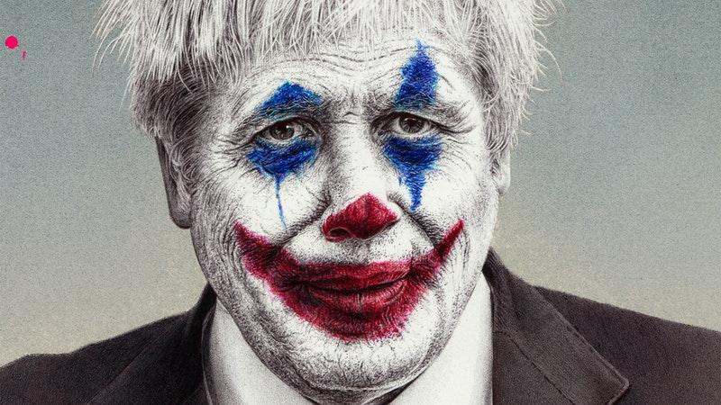 Boris Johnson Turns Into The Joker In New Artwork Itv News