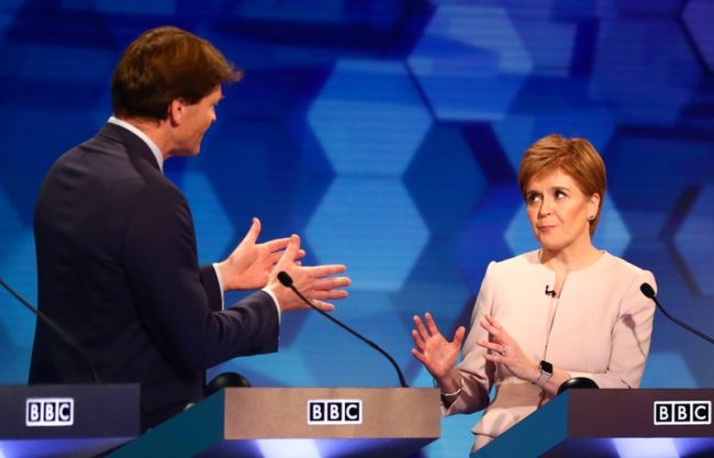 Nicola Sturgeon clashes with Brexit Party's Richard Tice in election debate  | ITV News