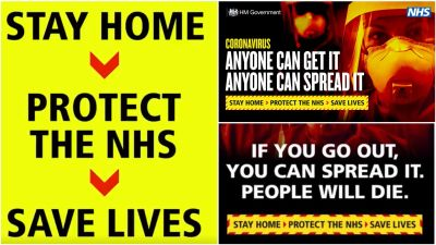 Government Launches New Coronavirus Advert With Stay At Home Or People Will Die Message Itv News