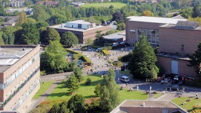 Exeter University's Streatham Campus.