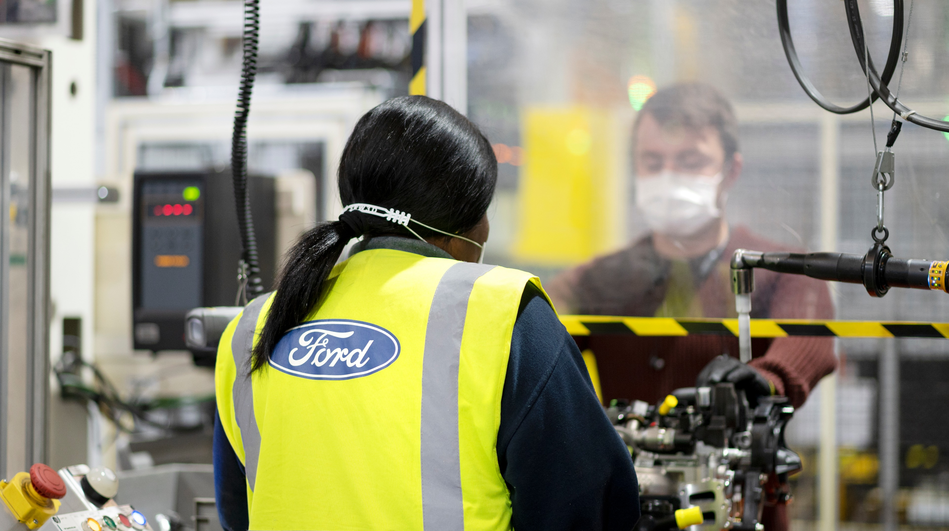 Ford Restarts Production At Engine Plant In Dagenham Itv News