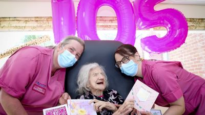 100821 BESSIE 105-YEAR-OLD