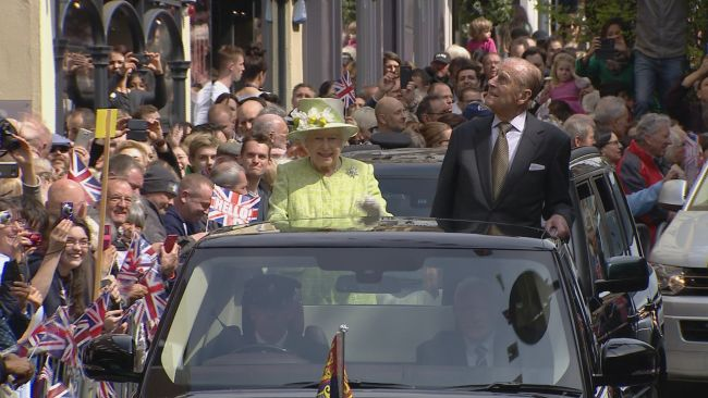 Despite the Duke of Edinburgh living a more quiet life, since he retired from public duty in 2017,people in the town have fond memories of him.