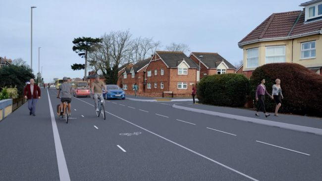 160921-cycle lane scheme proposed in christchurch