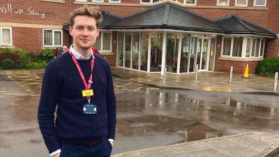 Jack McAlinden, 4th year medical student at the University of Bristol
