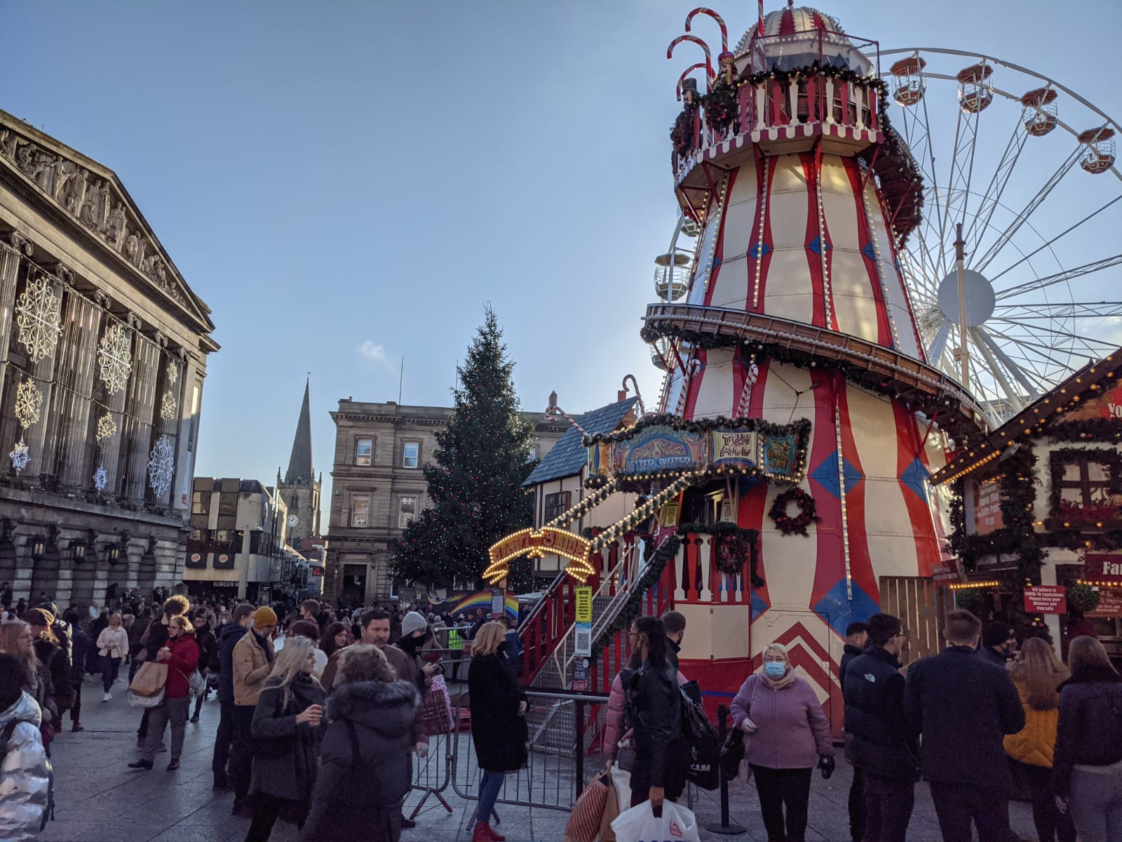 Nottingham Christmas Market Forced To Close For Rest Of The Year After Backlash Over Social Distancing Central Itv News