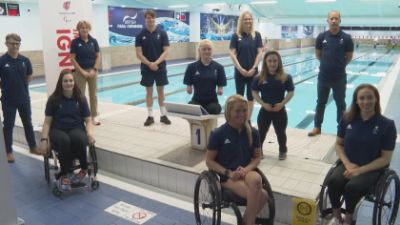 The 23-strong swimming squad for the Paralympics in Tokyo includes 12 debutants