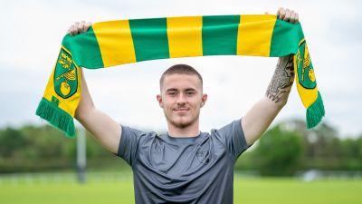 Flynn Clarke has signed for Norwich City.