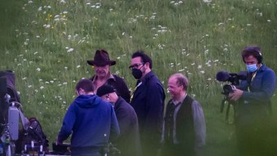Harrison Ford spotted by local photographer David Nichol