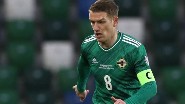 Northern Ireland's Steven Davis. Picture by: Brian Lawless / PA Images  Date taken:  31-03-2021